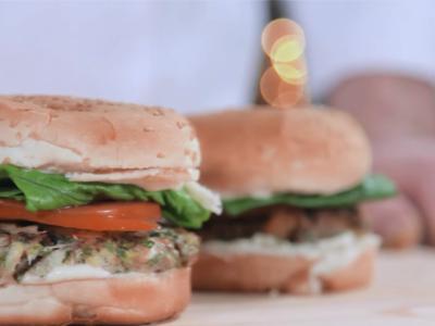 Μπιφτέκι από γαλέο για Burger