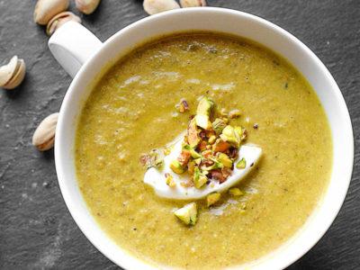 Σούπα με φιστίκια εκδοχή νούμερο 2