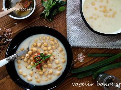Ρεβίθια σούπα με γάλα καρύδας